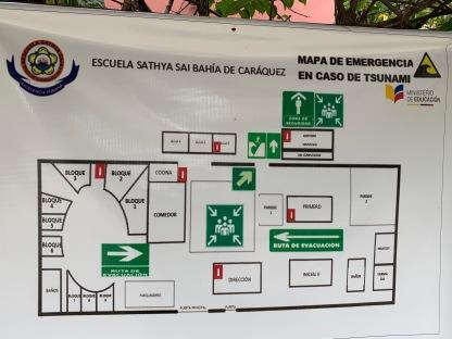 Plan in case of tsunami